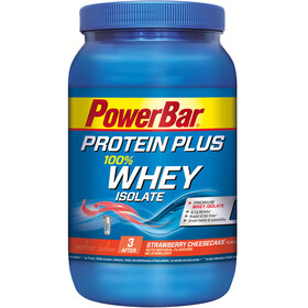PowerBar Protein Plus Whey Isolate 100% - Nutrición deportiva - Strawberry Cheesecake 570g